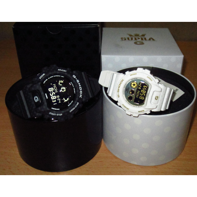 291a824612a Casio G-shock x Supra Collaboration GD-X6900SP-1 Black & GMD-S6900SP ...