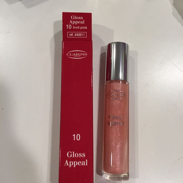 Clarins Gloss Appeal in Iced Pink