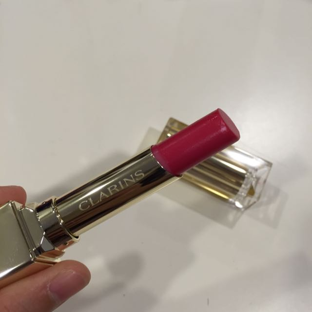 Clarins Rouge Éclat in Pink Fuchsia