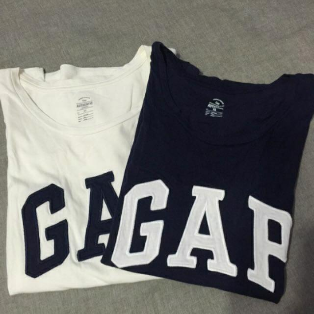GAP Logo白T XS