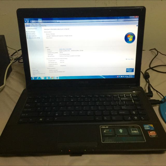 Laptop ASUS K42J i3 (RESERVED)