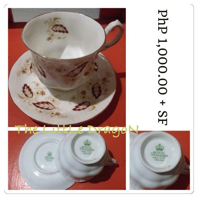Royal Standard Teacup and Saucer