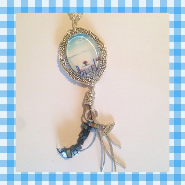Necklace Seaside View Silver