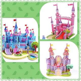 Soft Foam 3D Princess Castle