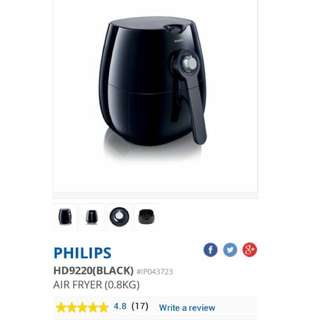 Philips Airfryer (Black)