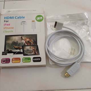 iPad 1/2/3 HDMI Cable