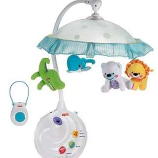 Fisher Price 2 In 1 Projection Mobile- Precious Planet