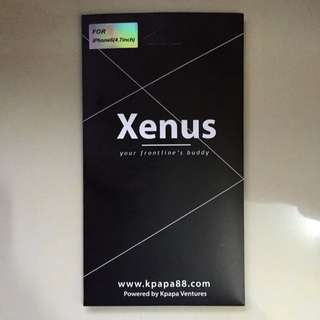 Original Xenus tempered glass screen protector For ( IPHONE 6 )
