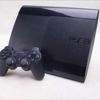 SONY PS3 主機 HDD 500G 遊戲主機 CECH-4207C 黑色