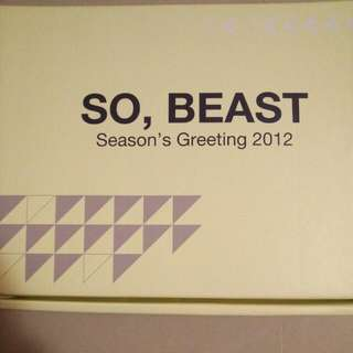 BEAST Season Gretting 2012