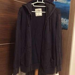 二手Authentic Original Wash sizeL 深藍色外套