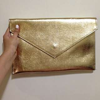 金色手拿包