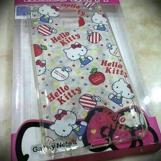 (保留中)GOMO Hello Kitty  Note4 手機殼套