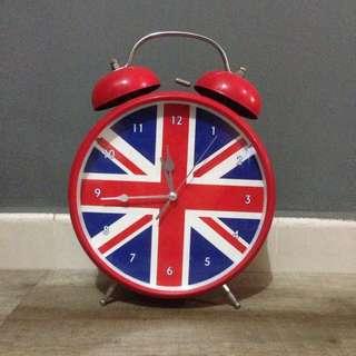 Union Jack Alarm Clock