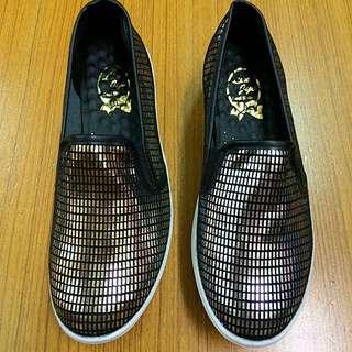 ‼️️出清 免運時尚金屬感氣墊增高厚底休閒鞋