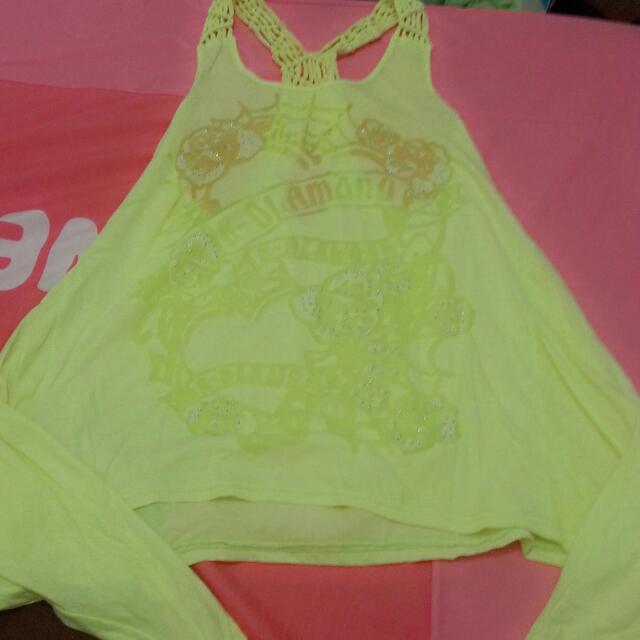 造型背心螢光黃綠