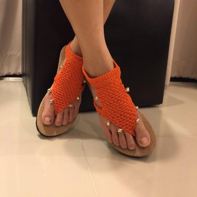 泰國手工編織涼鞋
