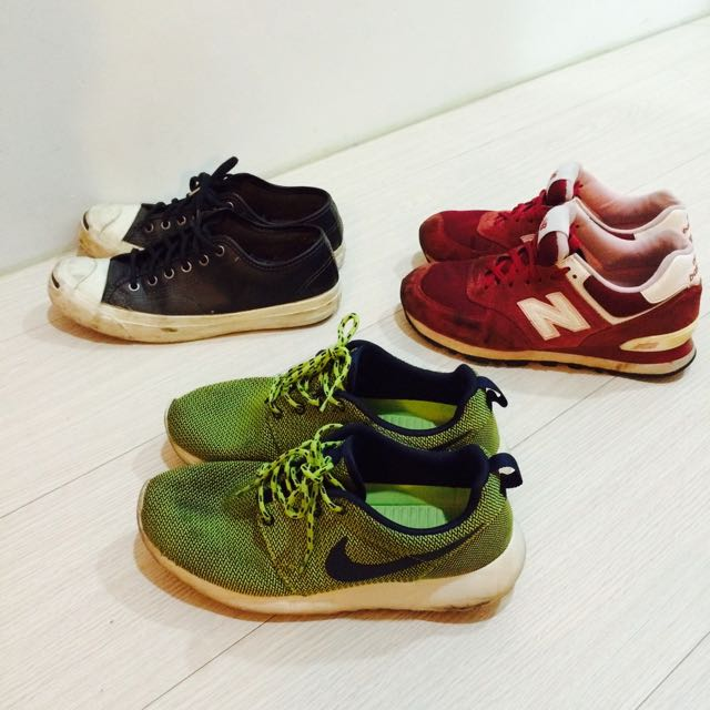 (保留中)二手鞋隨便買 24.5cm