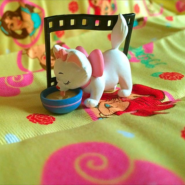 (保留)💗迪士尼 瑪麗貓 場景 扭蛋💗