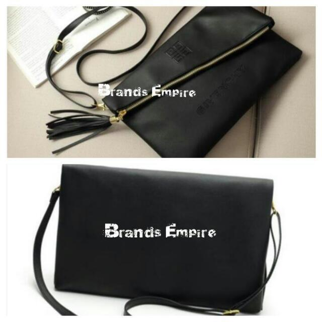Authentic GIVENCHY Sling   Clutch Bag 301ea76ad2034