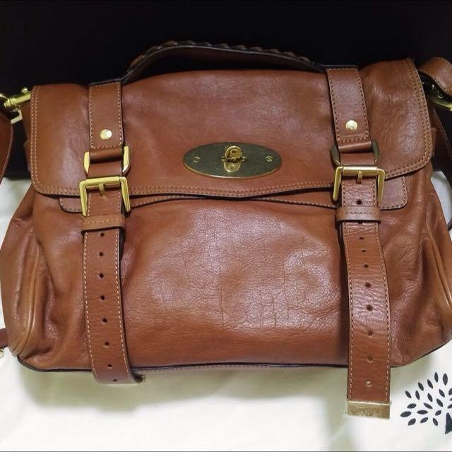 7f46dcb0985c Authentic Mulberry Alexa Satchel