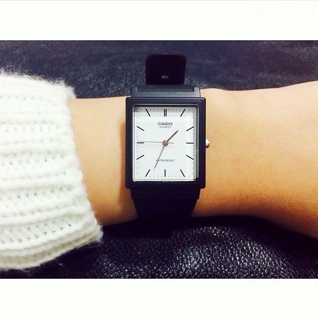👧casio正版基本款小方錶