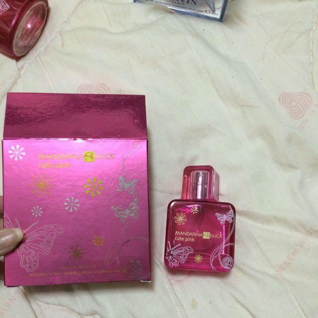 cute pink淡香水(於sasa購入