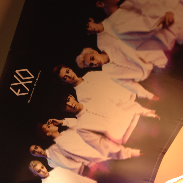 [EXO] Overdose / Miracle in December / XOXO 2 vers. Posters