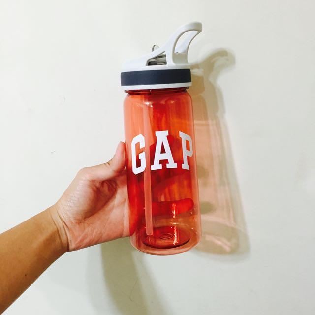 GAP 橘紅色水壺
