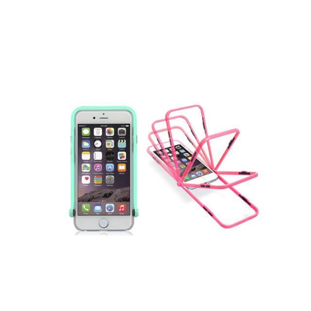 iphone6(4.7) TR手機殼 螢光粉