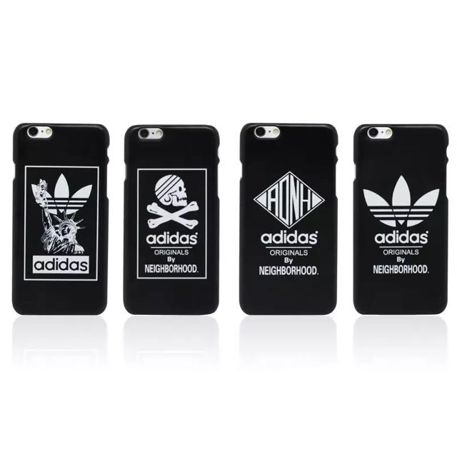 sneakers for cheap 09f34 87ae3 iPhone 6 6+ Plus Adidas Neighborhood Black Case