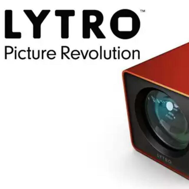 Lytro 光場相機 16G Wifi 版本 拍完可以傳手機。