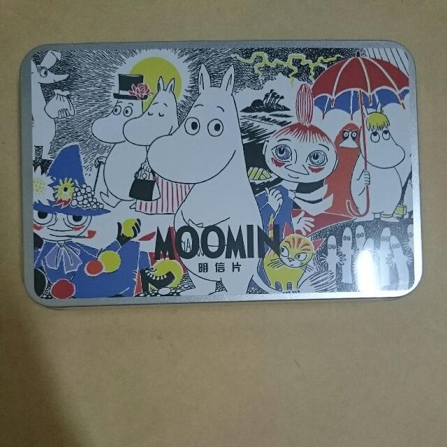 (待匯款)Moomin鐵盒明信片