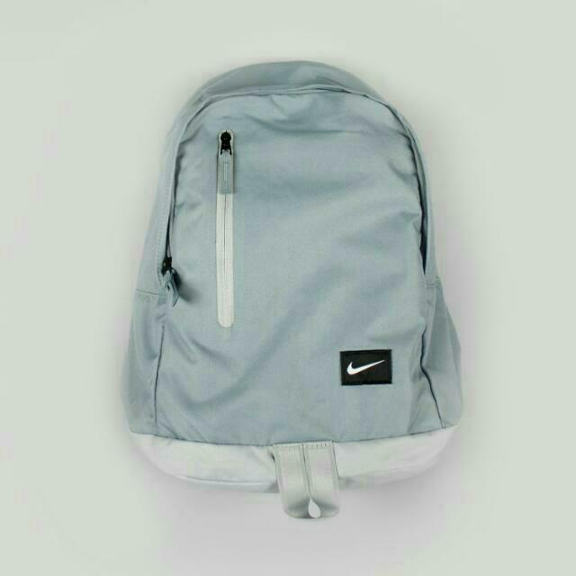 Nike Original Backpack 淺灰藍 日雜潮流款 正品