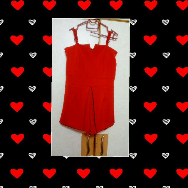 Red Ruby Romper