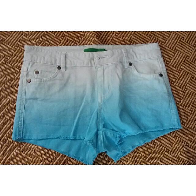 Semir藍色漸層短褲
