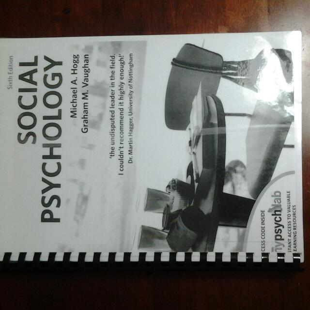 Social psychology by michael a hogg graham m vaughan 6th edition photo photo photo fandeluxe Gallery