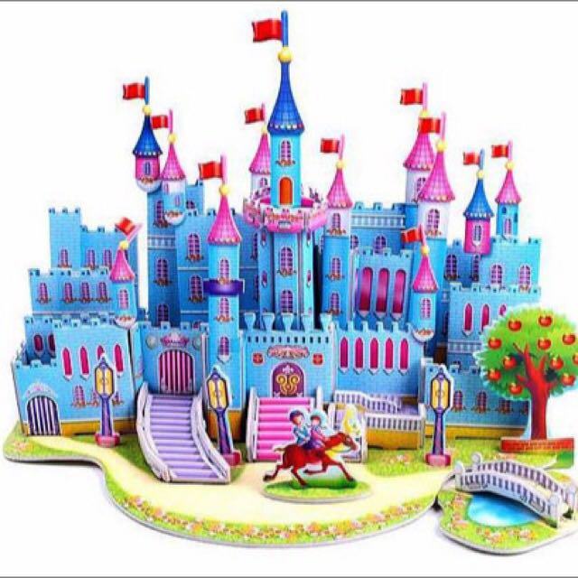 Soft Foam 3D Princess Castle
