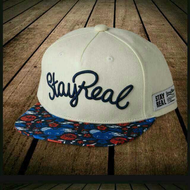 <限量款>StayReal 日本原宿限定款白帽