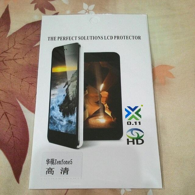 Zenfone 5 螢幕 高清保護貼 (保護膜.螢幕貼)