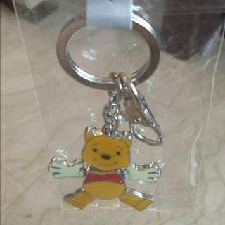 Pooh Keychain from Disneyland
