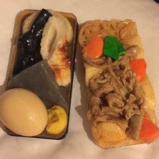 二手*仿真食物手機殼iphone4 關東煮.馬鈴薯燉肉