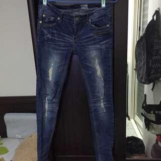 牛仔褲*m號