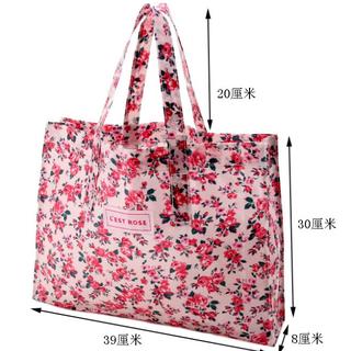 日本雜誌款附錄 夏季 防水 公主rose 粉色 手提包  購物袋