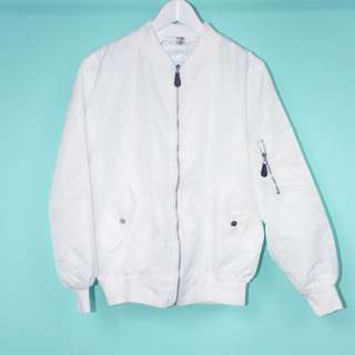ma1飛行員外套/白色