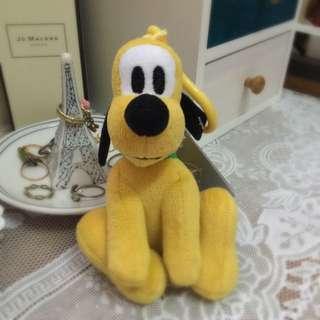 香港帶回 香港迪土尼Disney 布魯托塑膠圈吊飾 現貨(含運)