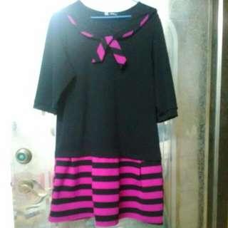 典雅洋裝(加大尺碼)