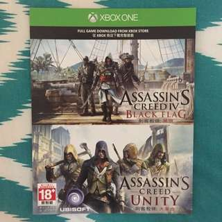 Assassin's Creed 4 - Black Flag & Unity