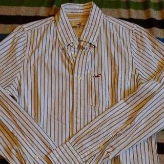 Hollister條紋襯衫s號含運