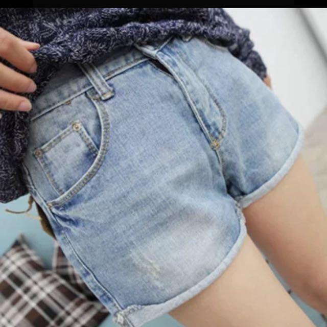 ✨百搭牛仔短褲
